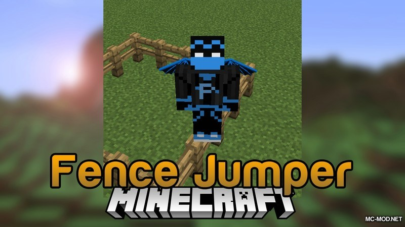 Fence Jumper Mod for Minecraft Logo