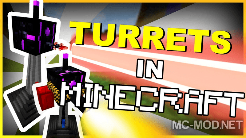turret-mod-rebirth-mod-1-12-21-11-2-for-minecraft Turret Mod Rebirth Mod 1.12.2/1.11.2 for Minecraft