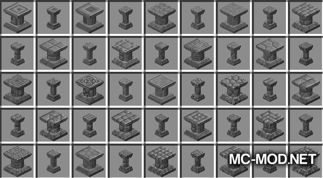 1514745159_884_corail-pillar-extension-chisel-mod-1-12-2-1-11-2-for-minecraft Corail Pillar – Extension Chisel Mod 1.12.2/1.11.2 for Minecraft