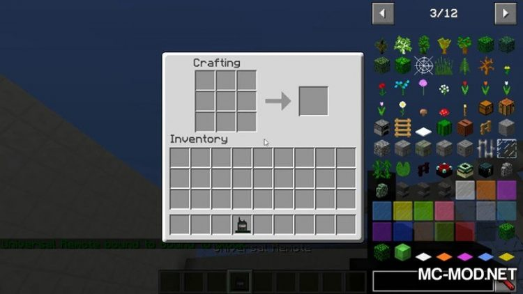 1516253054_269_universal-remote-mod-1-12-2-1-11-2-for-minecraft Universal Remote Mod 1.12.2/1.11.2 for Minecraft