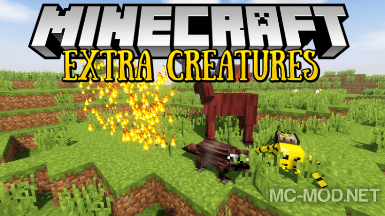 extra-creatures-mod-1-12-2-1-11-2-for-minecraft Extra Creatures Mod 1.12.2/1.11.2 for Minecraft