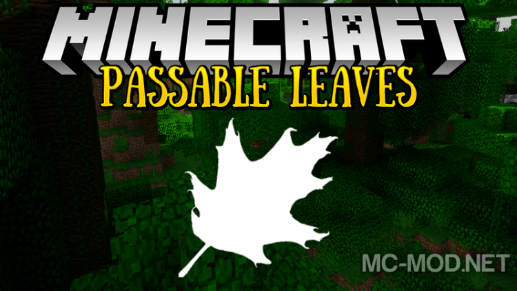 passable-leaves-mod-1-12-2-1-11-2-for-minecraft Passable Leaves Mod 1.12.2/1.11.2 for Minecraft