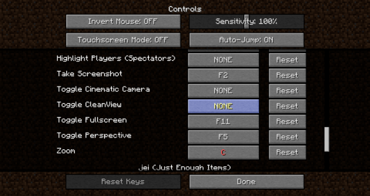 1519061969_567_clean-view-mod-1-12-2-1-11-2-for-minecraft Clean View Mod 1.12.2/1.11.2 for Minecraft