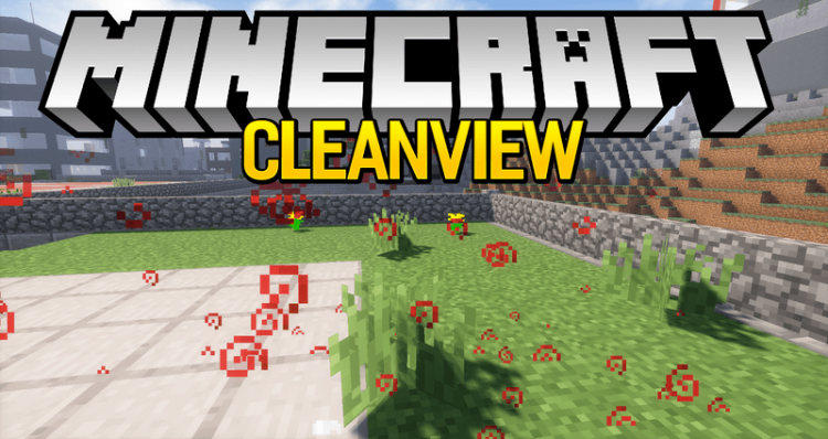 clean-view-mod-1-12-2-1-11-2-for-minecraft Clean View Mod 1.12.2/1.11.2 for Minecraft