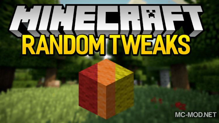 random-tweaks-mod-1-12-2-1-11-2-for-minecraft Random Tweaks Mod 1.12.2/1.11.2 for Minecraft