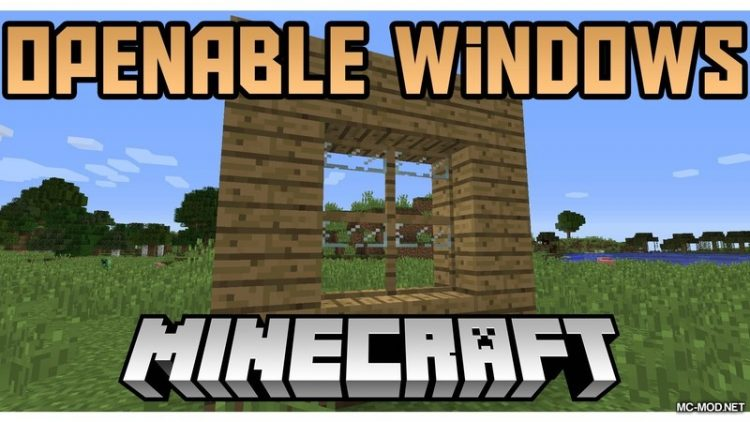 openable-windows-mod-1-12-2-1-11-2-for-minecraft Openable Windows Mod 1.12.2/1.11.2 for Minecraft