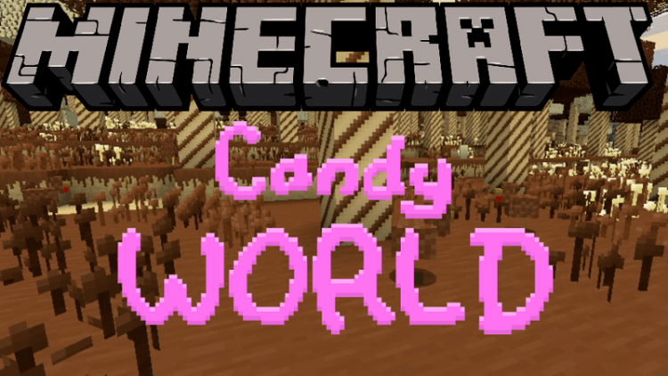 candy-world-mod-1-12-2-1-11-2-for-minecraft Candy World Mod 1.12.2/1.11.2 for Minecraft