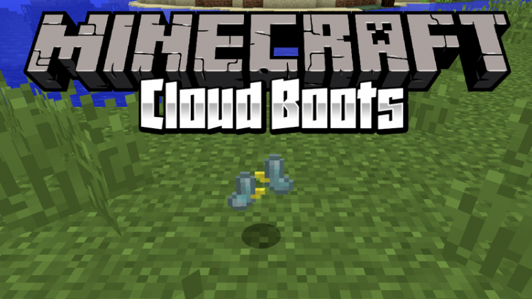 cloud-boots-mod-1-12-2-1-11-2-for-minecraft Cloud Boots Mod 1.12.2/1.11.2 for Minecraft