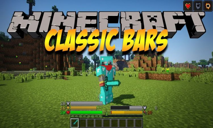 Classic Bars Mod 1 12 2 (A New Look for Minecraft)