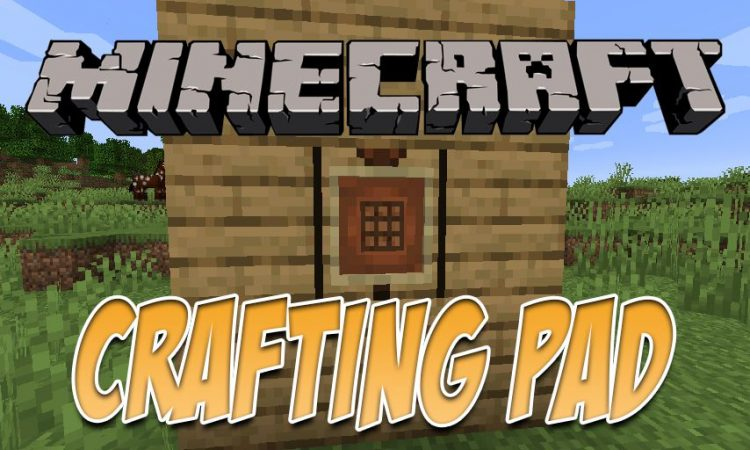 Craftingpad Mod 1 15 2 1 14 4 Portable Crafting Table